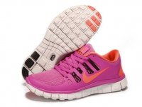 Womens Nike Free 5.0 V2 Black Rose