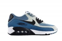 Mens Nike Air Max 90 Premium Blue Grey