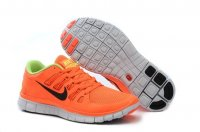 Womens Nike Free 5.0 V2 Orange Green