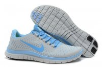 Womens Nike Free 3.0 V4 Grey Blue