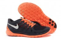 Mens Nike Free 5.0 Black Orange
