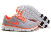 Womens Nike Free 5.0 V4 Grey Orange