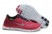Mens Nike Free 4.0 Red Grey