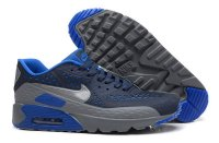 Mens Air Max 90 Ultra BR Black/Cool Grey/Royal Blue