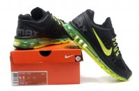 Mens Air Max 2013 Black Yellow