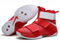 lebron soldier 10 white red