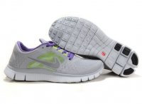 Womens Nike Free Run+ 3 Purple Grey