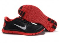 Mens Nike Free 4.0 V3 Black Red