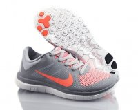 Womens Nike Free 4.0 Grey Orange