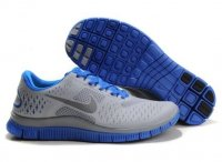 Mens Nike Free 4.0 V2 Blue Grey