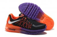 Womens Air Max 2015 Black Orange Purple