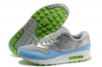 Mens Air Max 87 Silver Light Blue