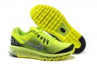 Mens Air Max 2013 Black Green