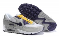Womens Nike Air Max 90 White/Grey/Purple