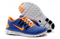 Mens Nike Free 5.0 V2 Blue Orange