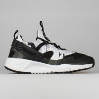 Nike Air Huarache Utility Pure Platinum Black Dark Grey