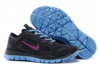 Womens Nike Free 5.0 Purple Black