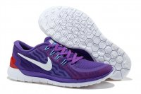 Womens Nike Free 5.0 Purple White