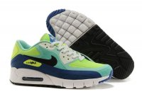 Womens Air Max 90 Breathe Rio Crystal Mint/Black/Hyper Cobalt