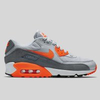 Nike Wmns Air Max 90 Essential Pure Platinum Total Orange