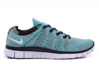 Mens&Womens Nike Free 5.0 Flyknit NSW Light Blue