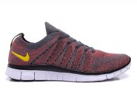 Mens&Womens Nike Free 5.0 Flyknit NSW Grey Red