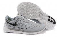 Mens Nike Free 5.0 Black Grey