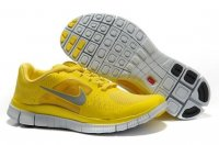 Womens Nike Free 5.0 V3 Yellow Silver