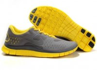 Mens Nike Free 4.0 V2 Grey Yellow