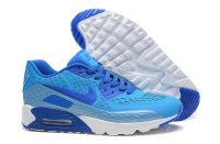 Mens Air Max 90 Ultra BR Light Blue/White/Royal Blue