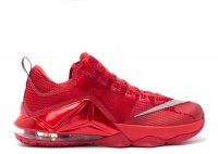 "lebron 12 low ""all over red"""