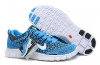 Mens Nike Free 6.0 Spiderman Blue Grey