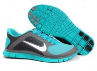 Mens Nike Free 4.0 V3 Green Grey