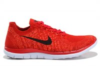 Mens Nike Free 4.0 Flyknit Red