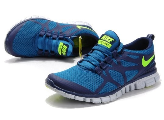 nike free 3.0 v3 blue yellow