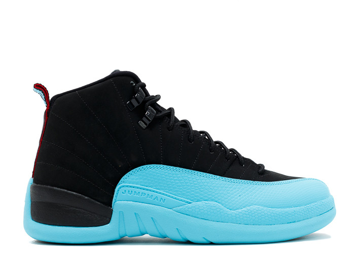 Air Jordan 12 Contacts Gamma Bleu De Faux